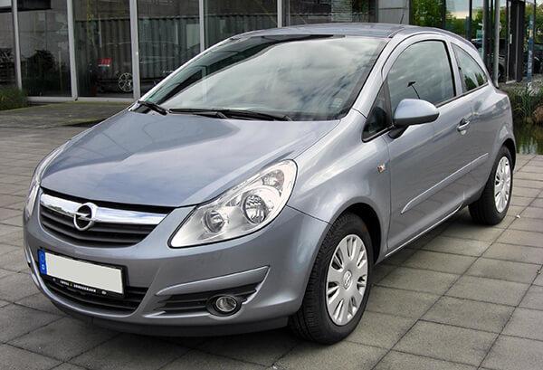 Günstige Kfz Versicherung für den Opel Corsa D