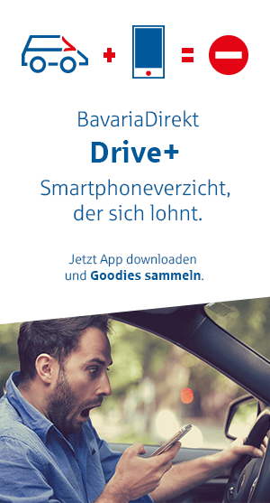 Kfz-Versicherung BavariaDirekt ab 5.- Euro
